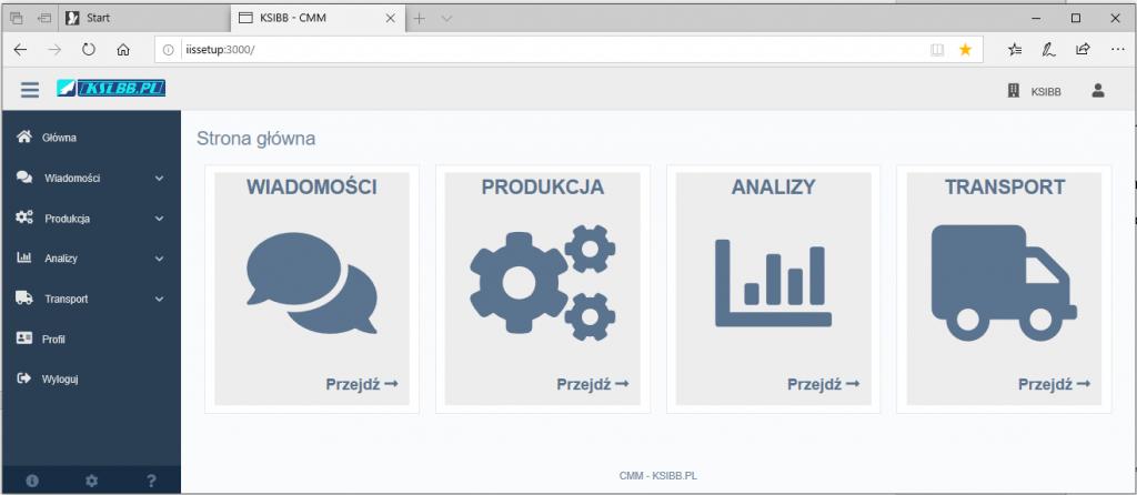 Aplikacja CMM (Capability Maturity Model) – nowa funkcjonalność dostępna w MONACO przez przeglądarkę.